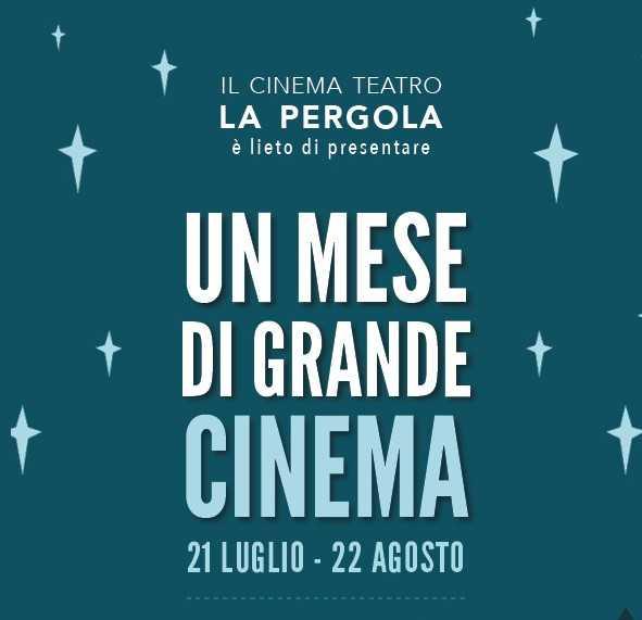 Signore e Signori, il Cinema Teatro La Pergola riapre!