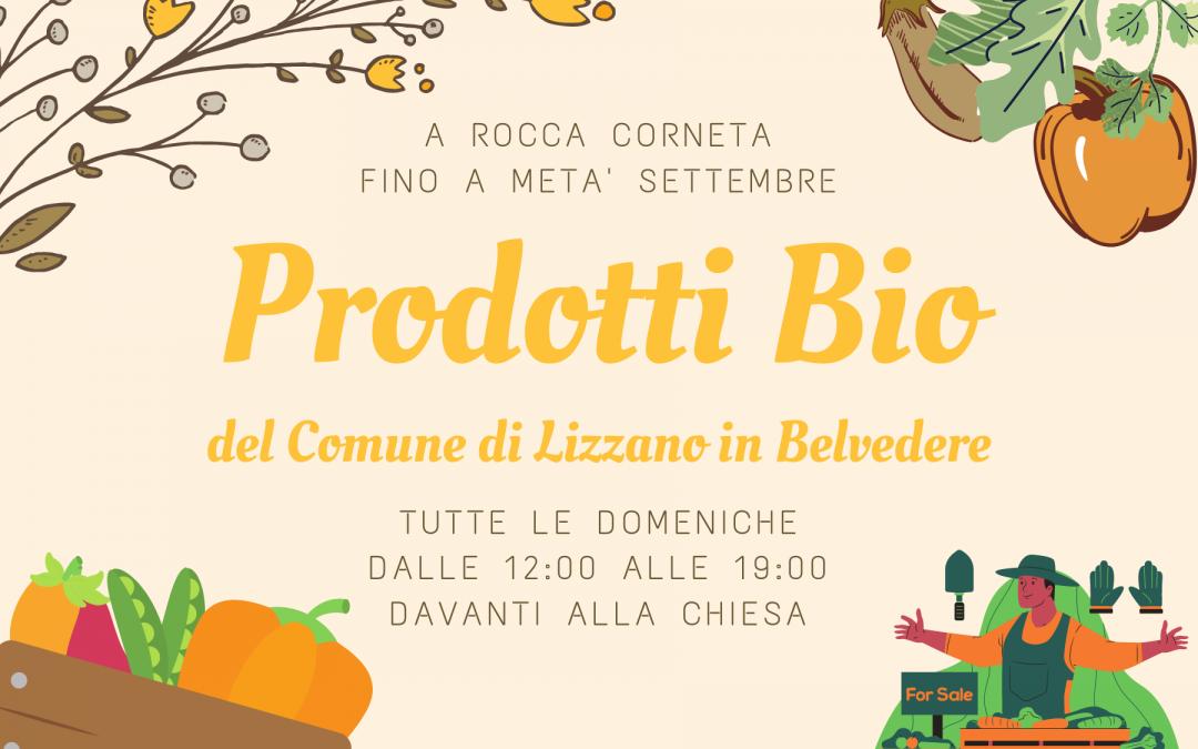 Vendita prodotti Bio del Comune di Lizzano in Belvedere