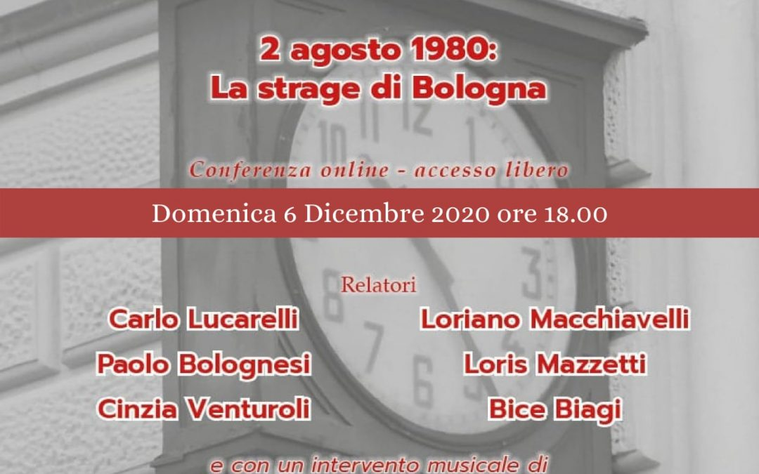 Memoria del '900 – 2 agosto 1980 la strage di Bologna